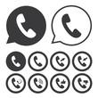 Handset icon - 78241734