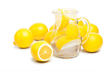 fresh lemon's water