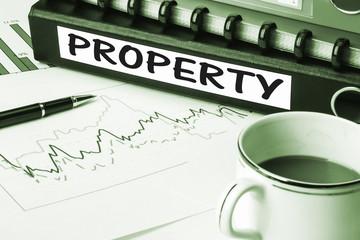 property on business folder