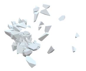 Débris d'explosion vectoriels 1