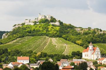 ruins of Falkenstein Castle, Lower Austria, Austria
