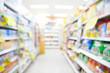 Supermarket blur background - 78244954