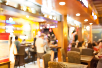 blurred background, Coffee cafe