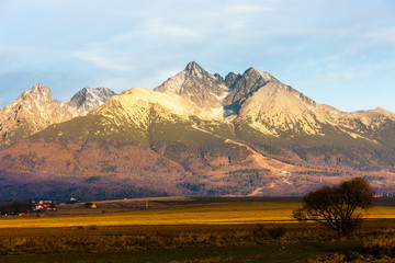 surroundings of Lomnicky Peak, Vysoke Tatry (High Tatras), Slova
