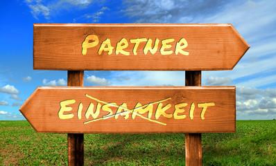 Strassenschild 33 - Partner