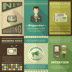 Journalist Poster Set