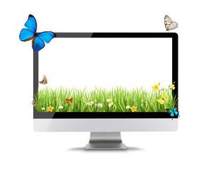 Modern computer display
