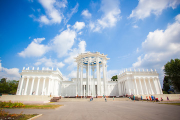 RUSSIA, 8 AUGUST 2014, main pavilion ENEA park in Moscow