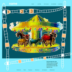 template for childrens site