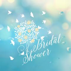 Bridal shower template.