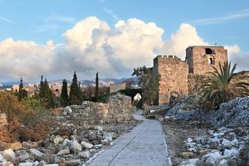 Byblos Crusader Fortress, Lebanon
