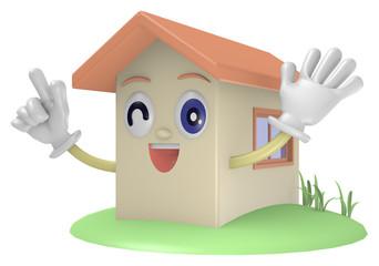 家のキャラクター