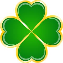 St Patrick's Day Clover