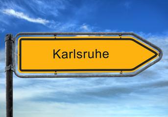 Strassenschild 26 - Karlsruhe
