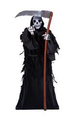 Death with a scythe shows forward