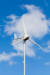 Eco power, wind turbine generating electricity