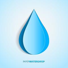 waterdrop paper
