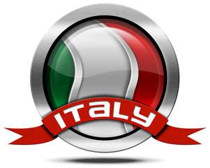 Italy Flag - Metal Icon