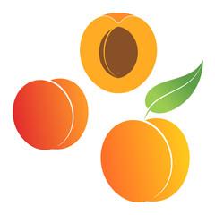 Peach. Set