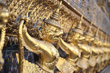 Golden Garuda at Wat Phra Kaew Bangkok
