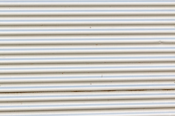 a background of an white shutter