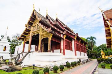 Thai art pavilion building