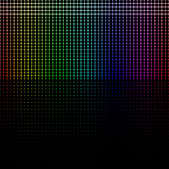 Neon Rainbow background