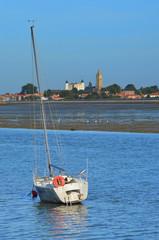 bateau a l'échouage Noirmoutier