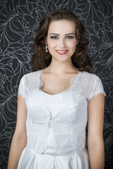 Professional makeup hairstyle bride