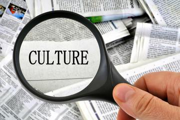La rubrique culture passée à la loupe