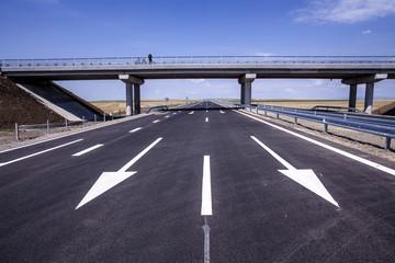 New highway in Eastern Europe