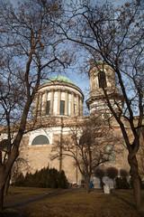Basilica in Esztergom. Hungary