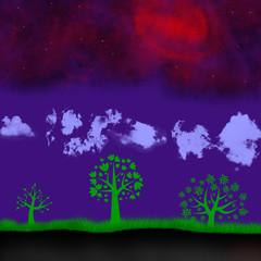Пейзаж планеты