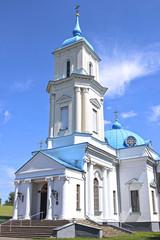 Pokrovsky Cathedral in the city of Baranovichi in Belarus