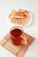 чай с печеньем