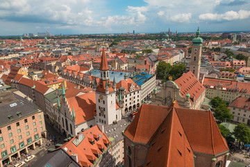 Old Town Munich in Germany