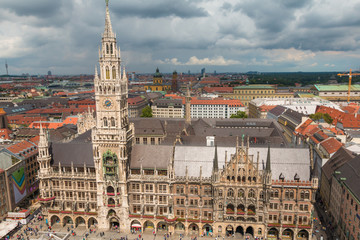 Old Town Hall of Munich Germany