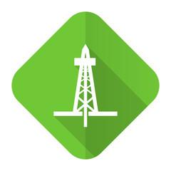 drilling flat icon