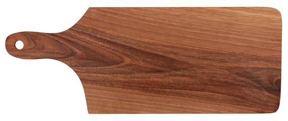 Cutting board made of walnut wood