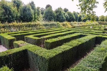 Maze in Schönbrunn Palace Vienna