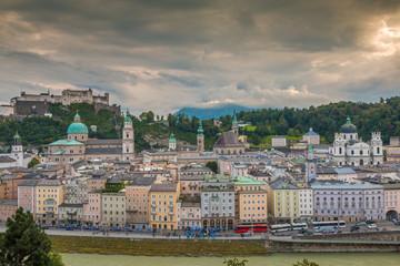 View of Salzburg in Austria