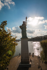 Statue of Liberty in Paris France