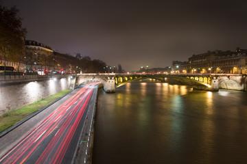 Night Lights of Paris France