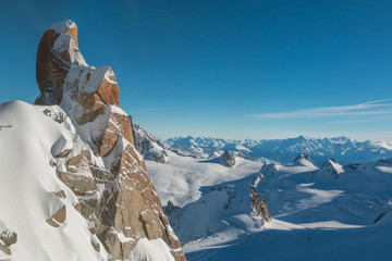 French Alps near Chamonix