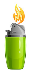 Green lighter
