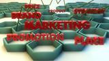 Marketing 3d text concepts
