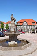 Brunnen an der Neustadtkirche, Warburg