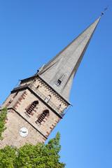 Kirchturm St. Mariä Heimsuchung in Warburg