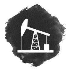 Oil derrick icon.