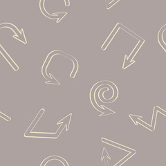 seamless background with arrows for your design